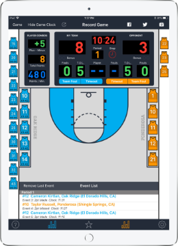 MaxStats iPad App screenshot
