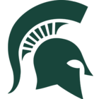 Michigan State logo.